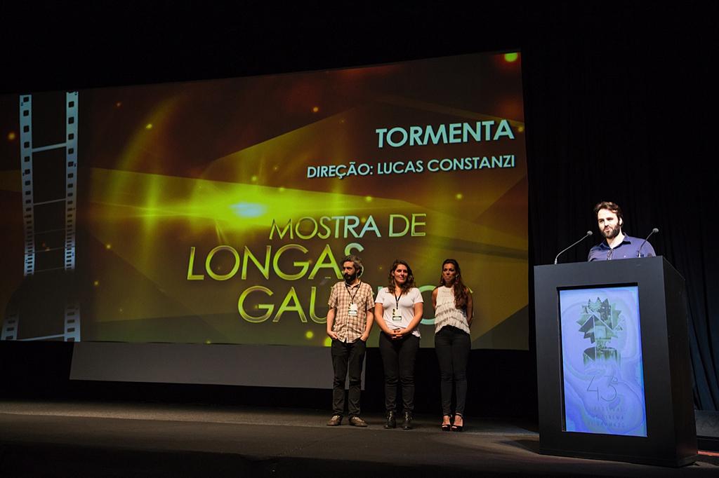 """""""Tormenta"""" estreia no Festival de Gramado"""